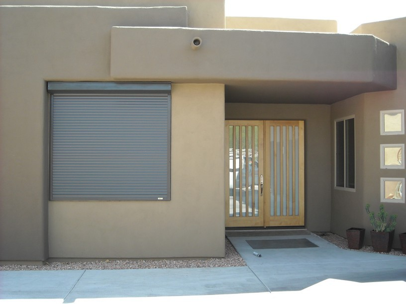 Sun Shade Insulated Roller Shutter Window