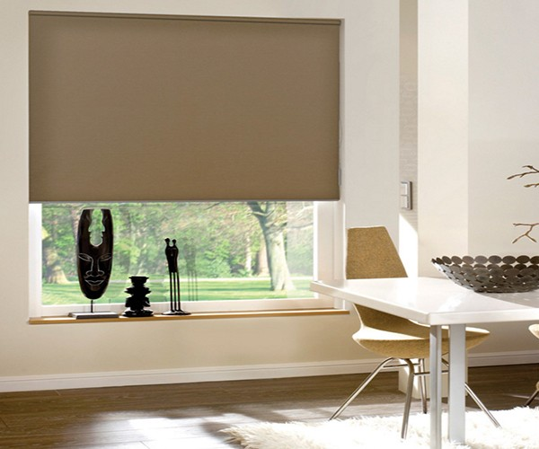 Fancy Chain Control Window Blackout Roller Blinds