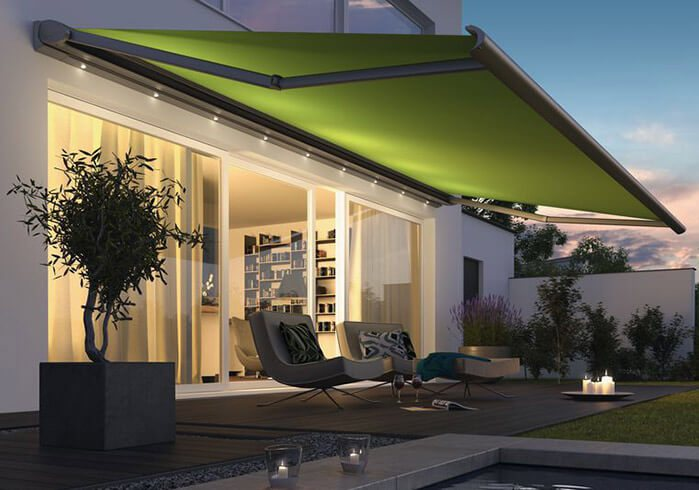 Balcony Sunshade Full cassette Awning