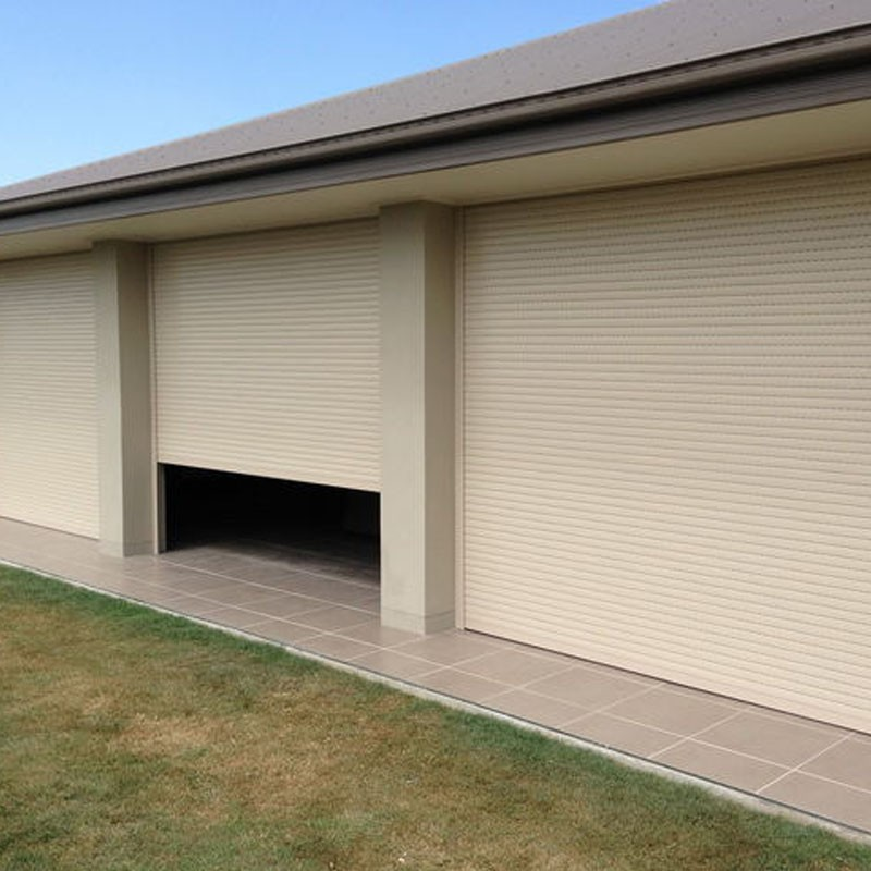 Sunshade Domestic Outdoor Electric Insulated Roller Shutter Window
