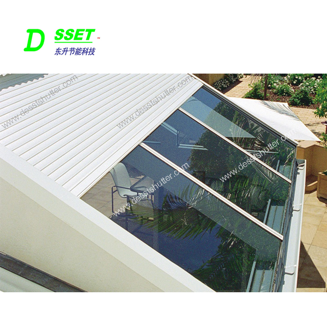 Outdoor Retractable Awning Electric Shelter Manufacturer