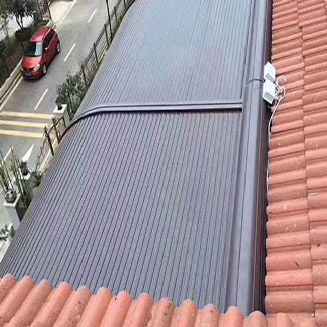 Aluminum Roof Overhead Shading Shade Screen